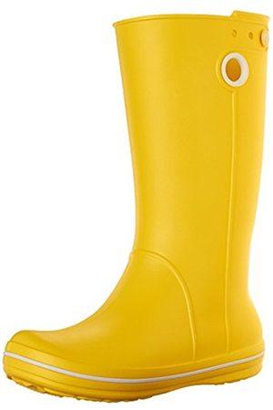 Women Boots - Crocs Crocband Jaunt, Women's Rain Boots, (Lemon)
