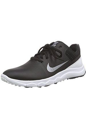 Women Shoes - Nike FI Impact 2, Women's Golf Shoes, - Schwarz ( / Metallic Cool / 002)