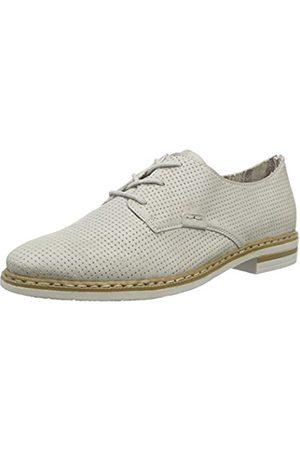 Women Flat Shoes - Rieker Women's 50615 Derby Size: 6 UK