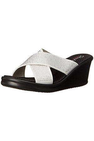 Women Heels - Skechers Rumblers Metal Mama, Women's Heels Sandals