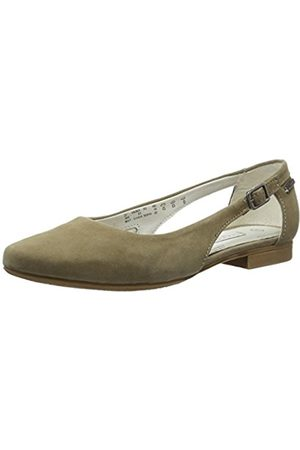 Womens 411434603400 Closed Toe Ballet Flats, Grey, 3 UK Bugatti