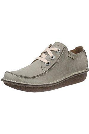 Women Flat Shoes - Clarks Funny Dream, Women's Derby Lace-Up