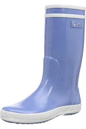 Boots - Aigle Lolly Pop, Unisex Kids' Rain Boots, (Bleu Ciel)