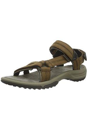 Women Sandals - Teva Women's Terra Fi Lite Leather W's Athletic Sandals, ( Brn)