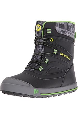 Boys Shoes - Merrell Boys ml-B Snow Bank 2.0 Waterpoof High Rise Hiking Shoes