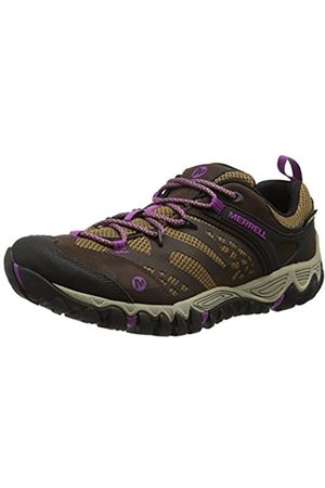 Women Shoes - Merrell All Out Blaze Vent Gore-Tex, Women's Lace-Up Low Rise Hiking - (Dark )