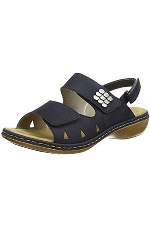 Women Sandals - Rieker 65992-14, Women's Open Toe Sandals