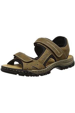 Men Sandals - Rieker 25084-24, Men's Open Toe Sandals