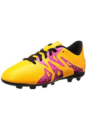 Shoes - adidas X 15.4 Fg Junior Fußballschuhe, Unisex Kids' Footbal Shoes, Orange (Solar /core Schwarz/shock )