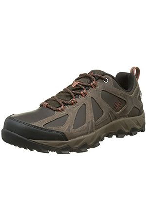 Men Shoes - Columbia Peakfreak Xcrsn II Low Leather Outdry, Men Low Rise Hiking Shoes, Black (Cordovan, Sanguine 231)