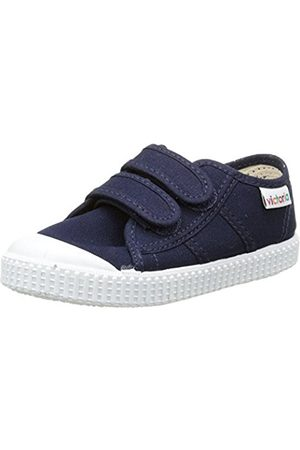 Trainers - victoria Unisex Kids' Basket Lona Dos Velcros Low-Top Sneakers Size: 10 Child UK