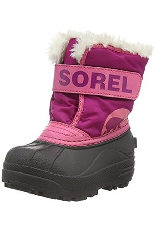 Girls Ankle Boots - sorel Unisex Kids Childrens Snow Commander Ankle Boots