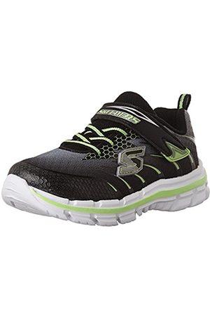 Boys Trainers - Skechers Boys Nitrate-Pulsar Low-Top Sneakers