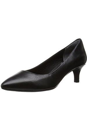 Rockport Women's Total Motion Kaiya Pump Closed Toe Heels, ( Calf 002)