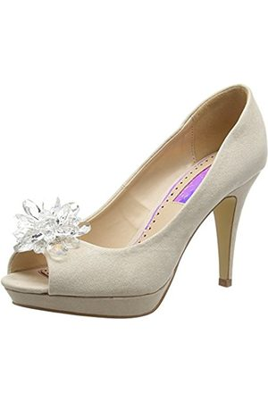 Women Heels - Miss KG Women's Gazelle Open-Toe Heels