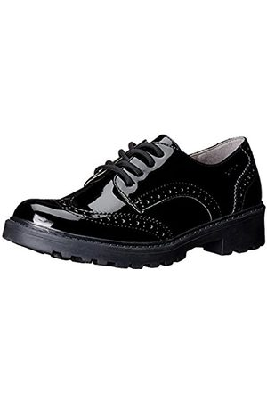 Girls Brogues & Loafers - Geox J CASEY GIRL N, Girls' Brogue, (BLACKC9999)