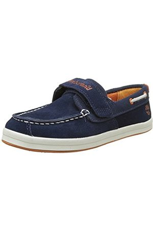 Shoes - Timberland Dover Bay H&l Boatblack Iris Suede With , Unisex Kids' Boat Shoes