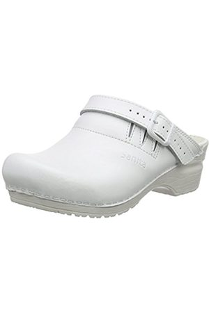 Clogs - Sanita Unisex Adults' San-Flex Open-OB Clogs, -Weiß ( 1)