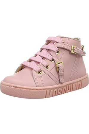 Girls Trainers - Moschino Girls' 25914 Low-Top Sneakers Size: 8.5 UK