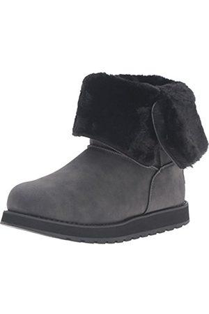 Women Snow Boots - Skechers Keepsakes Leatherette Mid Button, Women's Winter Boot