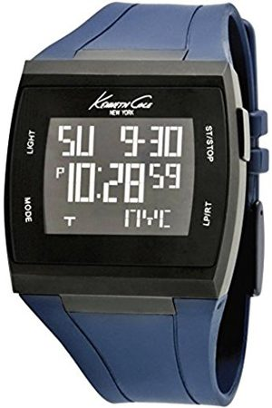 Men Watches - Kenneth Cole Mens Touch Screen Watch KC1669 with Dial and Silicone Strap