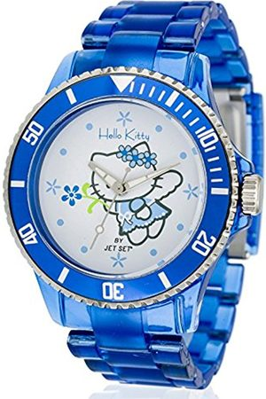 Girls Watches - Hello Kitty Girl's Quartz Watch with Dial Analogue Display and Gold Plastic Obi jhk 1004–19