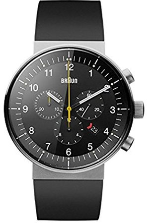 Men Watches - Men's Quartz Analogue Display Watch with Dial and Rubber Strap
