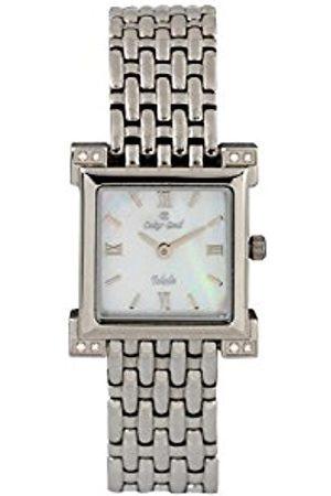 Oskar Emil Toledo Gold Plated Ladies Diamond Watch
