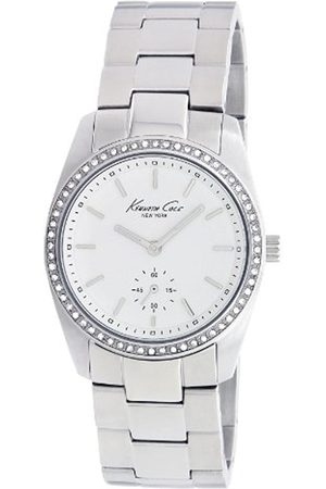 Women Watches - Kenneth Cole Women's Quartz Watch with Dial Analogue Display and Stainless Steel Bracelet KC4722