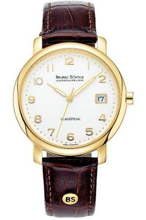 Soehnle Bruno Söhnle Men's Quartz Watch with Time Analogue Quartz Leather 17 – 33016 – 223