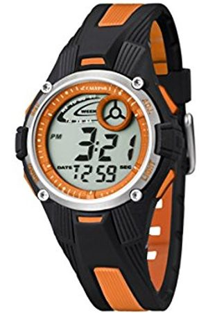 Watches - Calypso Unisex Digital Watch with LCD Dial Digital Display and Plastic Strap K5558/4