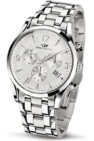 Philip Watch Philip Sunray Men's Quartz Watch with Dial Chronograph Display and Stainless Steel Strap R8273908145