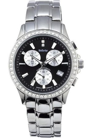 Women Watches - Women's Quartz Watch 73524096 SM with Metal Strap