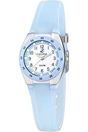Women Watches - Calypso Women's Quartz Watch with Dial Analogue Display and Plastic Strap K6043/D