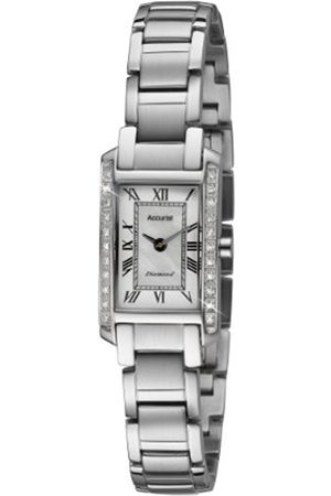 Accurist Women's Quartz Watch with Dial Analogue Display and Stainless Steel Bracelet Lb1590Rn