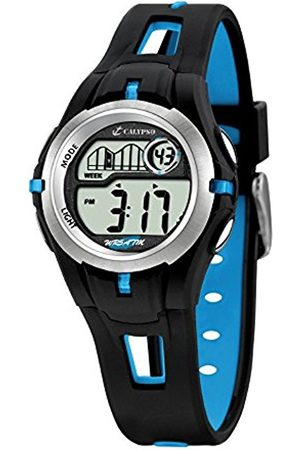 Boys Watches - Calypso Children's Digital Watch with LCD Dial Digital Display and Plastic Strap K5506/4