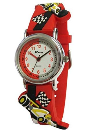 Boys Watches - Ravel Children's 3D Racing Car Easy Read Watch