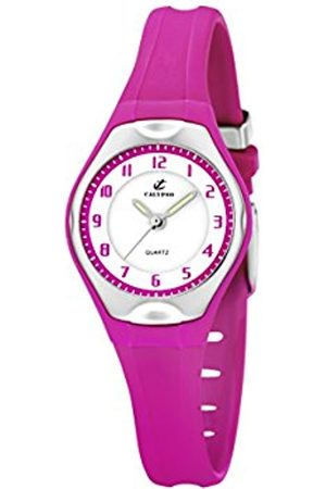 Women Watches - Calypso Women's Quartz Watch with Dial Analogue Display and Plastic Strap K5163/K