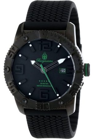 Men Watches - Men's Quartz Watch with Dial Analogue Display and Silicone Strap BM522-622C
