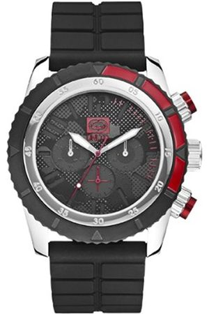 Watches - Marc Ecko Unisex Quartz Watch with Dial Analogue Display and Silicone Strap E16525G1