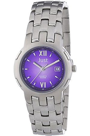 Women Watches - Just Women's Quartz Watch Just 48-S1510A-BR with Metal Strap