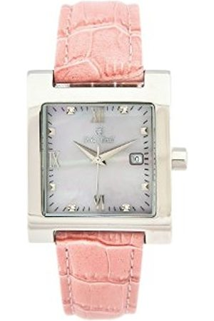 Oskar Emil St Petersburg Ladies Watch Leather Strap with Real Diamonds