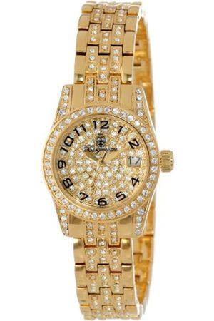 Women Watches - Diamond Star Bm120-299 Ladies Analogue Quartz Wristwatch Swarovski Date