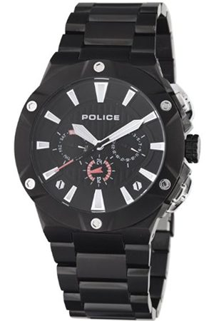 Men Watches - Police Mens Watch Cyclone with IP Bracelet and Dial