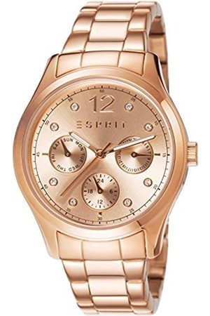 Esprit Women's Analogue Quartz Watch with Stainless Steel Rose Plated Bracelet - ES106702003