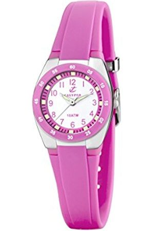Women Watches - Calypso Women's Quartz Watch with Dial Analogue Display and Plastic Strap K6043/C