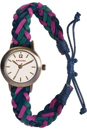 Women Watches - Women's Quartz Watch with Dial Analogue Display and Turquoise Leather Strap KLF-0020L