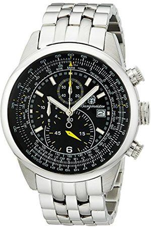 Men Bracelets - Melbourne Bm505-121 Gents Chronograph Stainless Steel Bracelet Dial Date Tachymeter