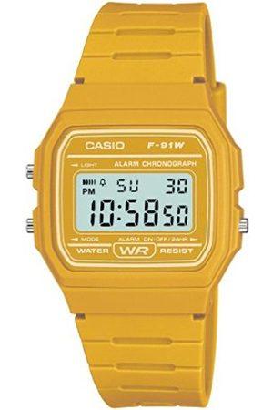 Men Watches - Casio Men's F-91WC-9AEF Quartz Watch with Digital Display and Resin Strap