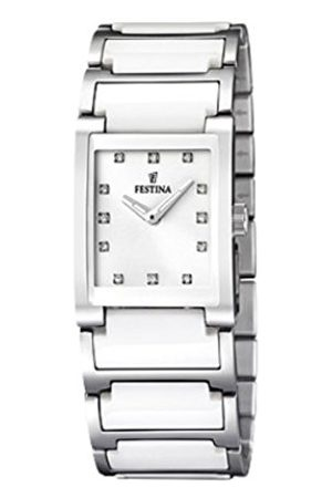 Festina Ladies Quartz Watch with Dial Analogue Display and Stainless Steel Bracelet F16536/3